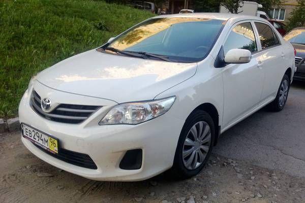 Отзыв о продаже Toyota Corolla